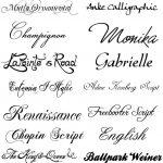 Картинки каллиграфия на английском