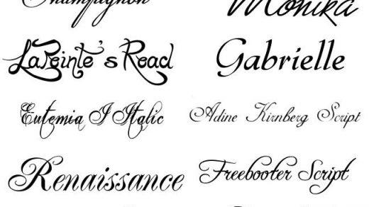 Картинки каллиграфия на английском (6)