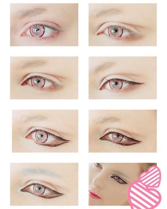 Картинки косплей макияж аниме (11)