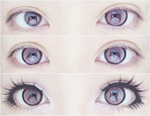 Картинки косплей макияж аниме (12)