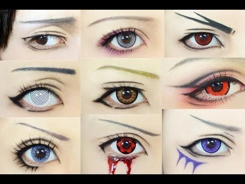 Картинки косплей макияж аниме (17)