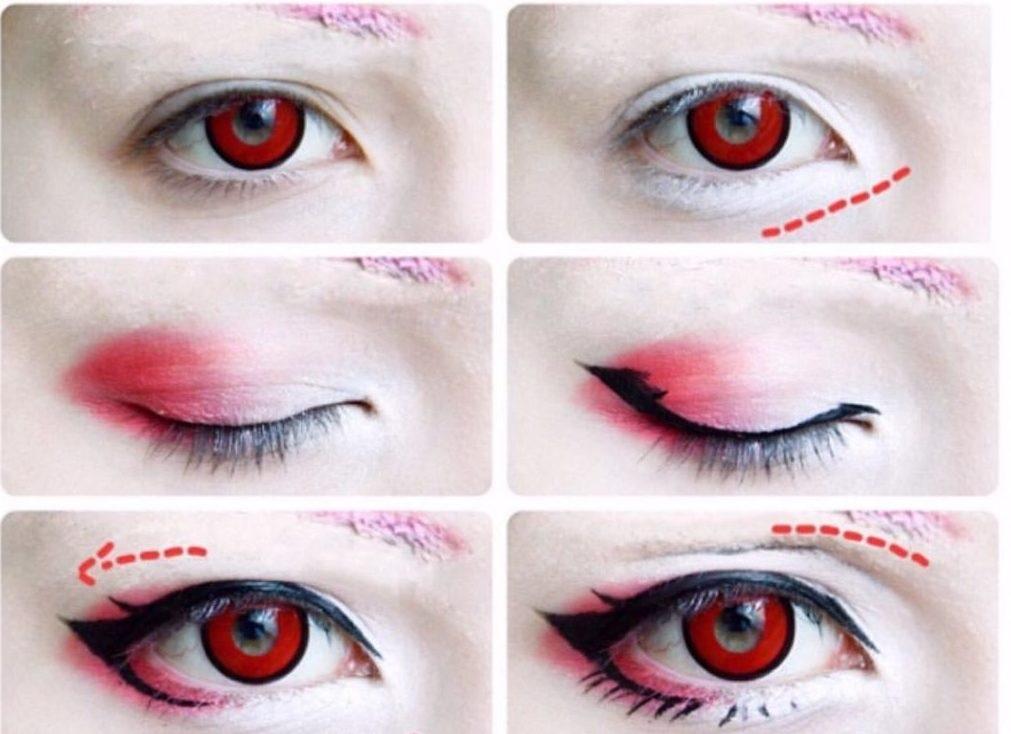 Картинки косплей макияж аниме (2)