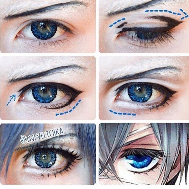 Картинки косплей макияж аниме (23)