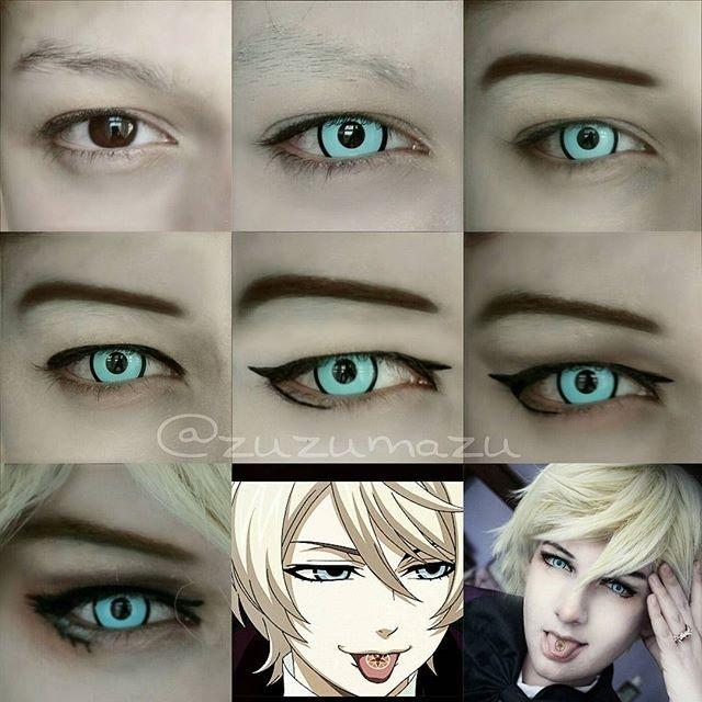 Картинки косплей макияж аниме (4)