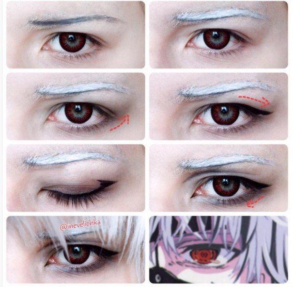 Картинки косплей макияж аниме (5)