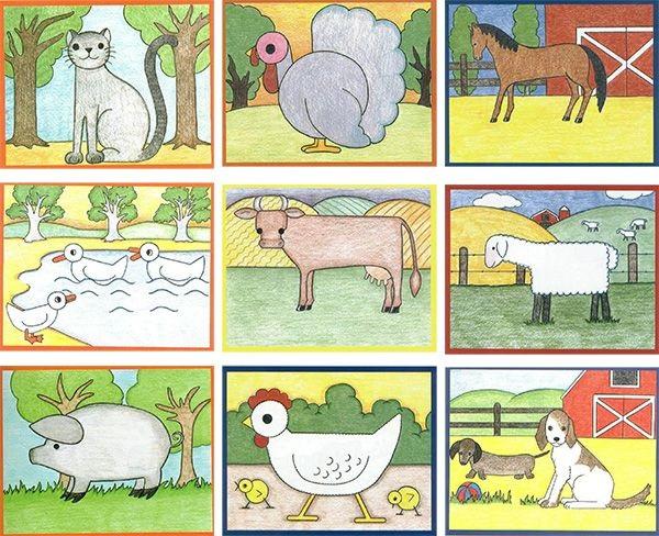 Картинки ферма для детей (13)