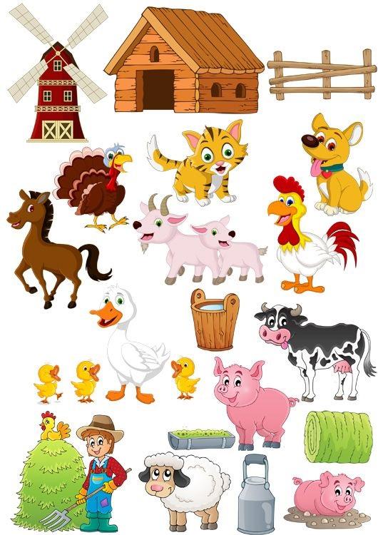 Картинки ферма для детей (14)