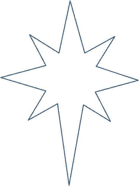 Картинки шаблоны звезды (10)