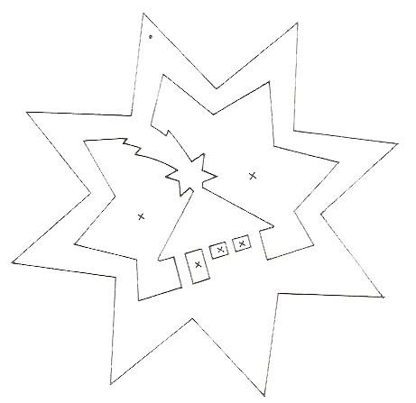 Картинки шаблоны звезды (13)