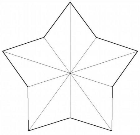 Картинки шаблоны звезды (14)