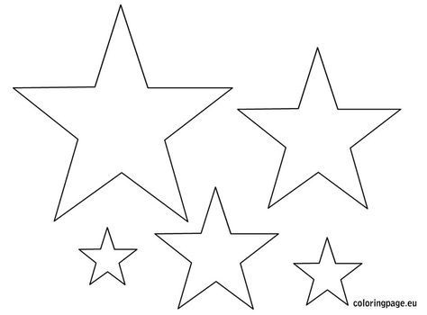 Картинки шаблоны звезды (16)