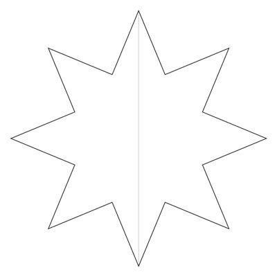 Картинки шаблоны звезды (20)