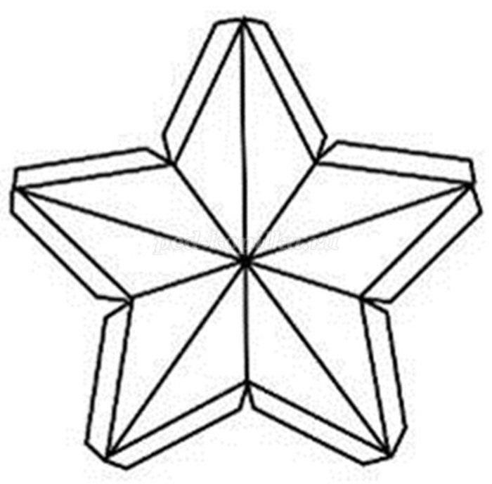 Картинки шаблоны звезды (23)