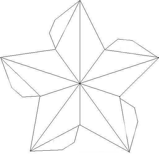 Картинки шаблоны звезды (4)
