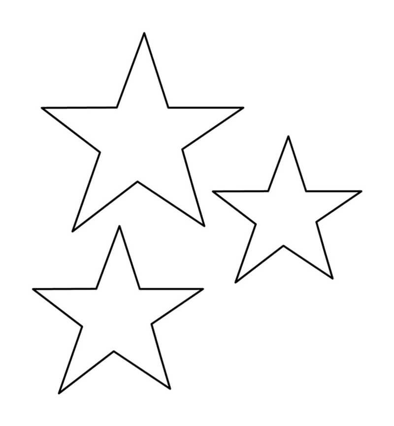 Картинки шаблоны звезды (5)