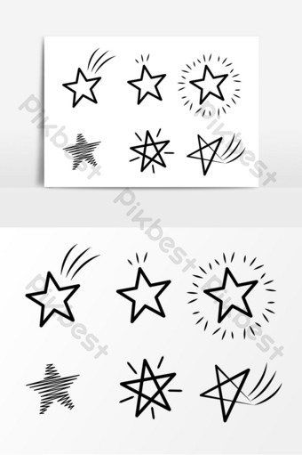 Картинки шаблоны звезды (6)