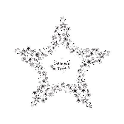 Картинки шаблоны звезды (9)