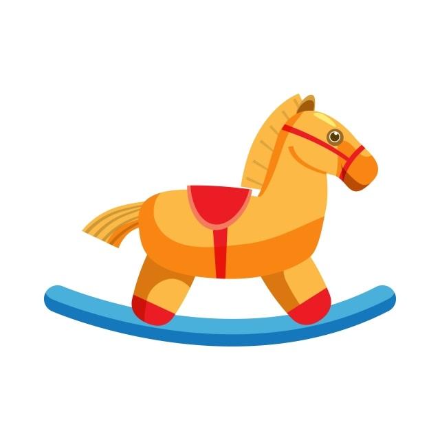 Качалка лошадка рисунок (15)