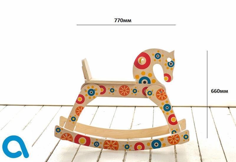 Качалка лошадка рисунок (17)