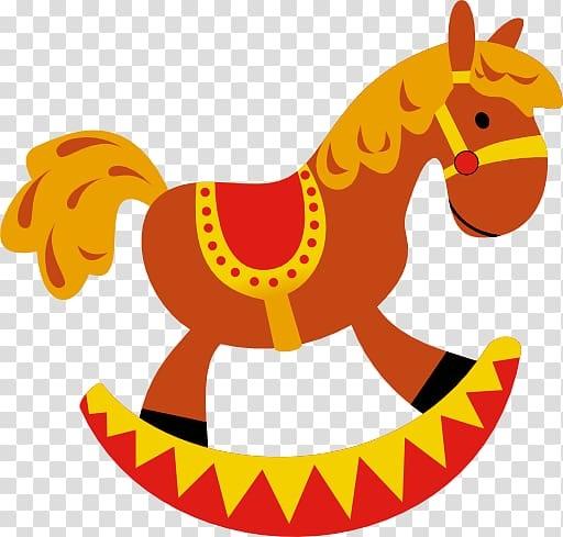 Качалка лошадка рисунок (18)