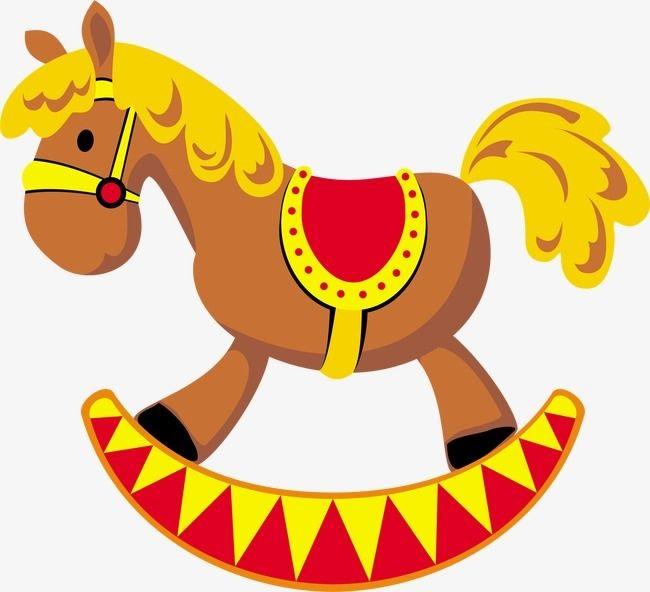 Качалка лошадка рисунок (21)
