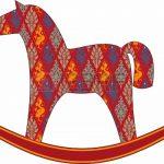 Качалка лошадка рисунок