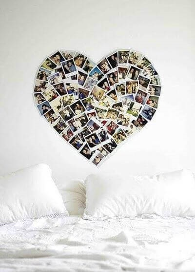 Коллаж в виде сердца   картинки (14)