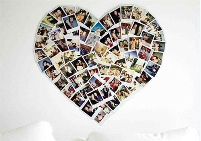 Коллаж в виде сердца   картинки (4)