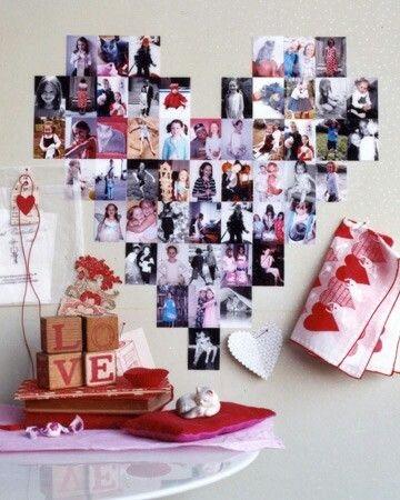 Коллаж в виде сердца   картинки (7)