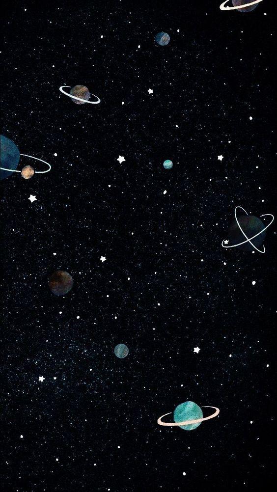 Космическая тема обои на телефон (10)