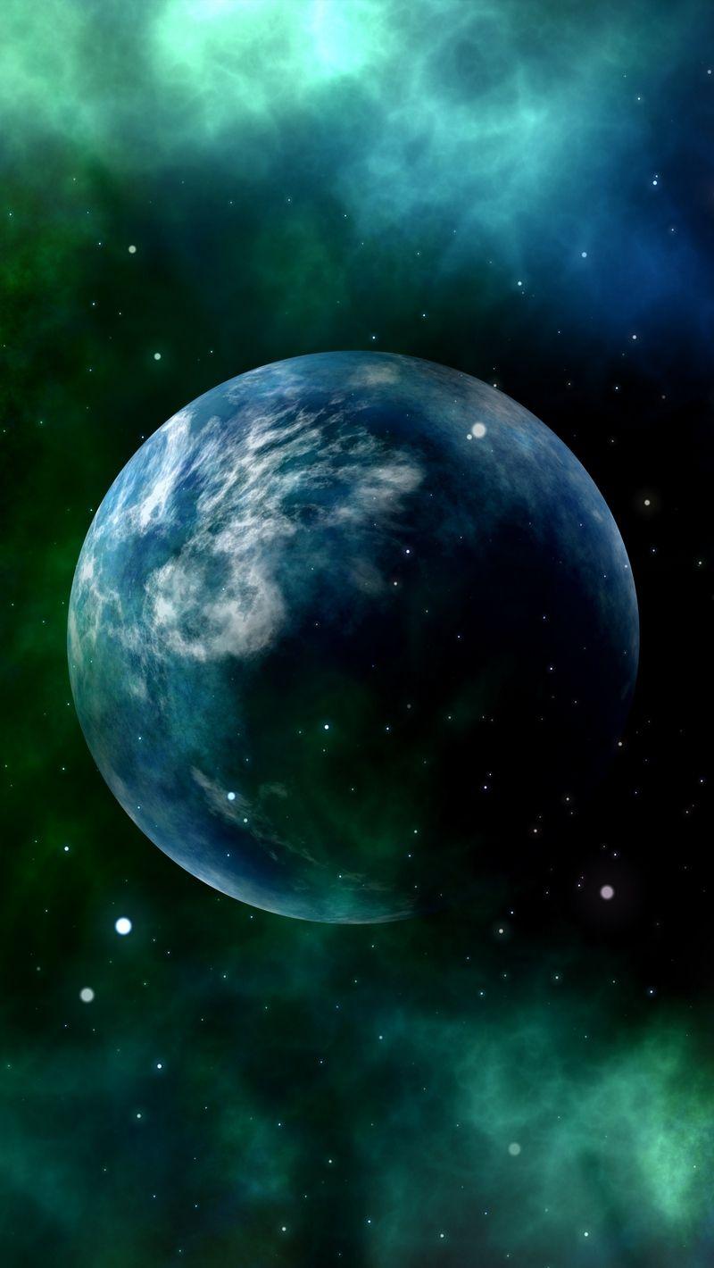 Космическая тема обои на телефон (11)