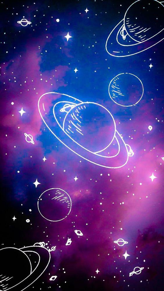 Космическая тема обои на телефон (12)
