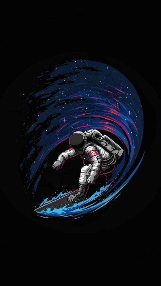 Космическая тема обои на телефон (24)