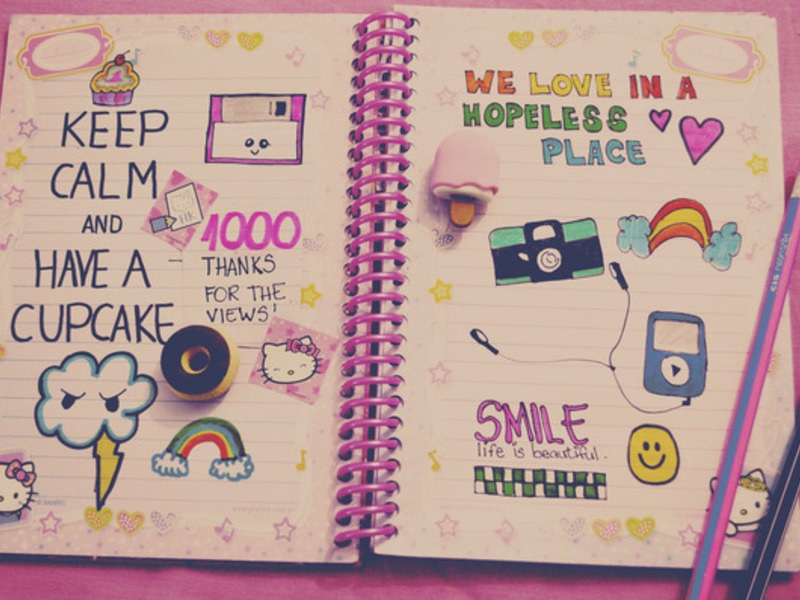 Красивые идеи для личного дневника (17)