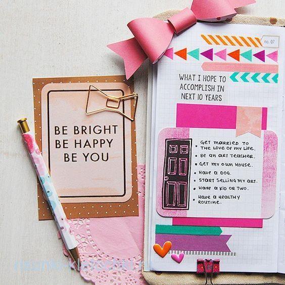 Красивые идеи для личного дневника (19)
