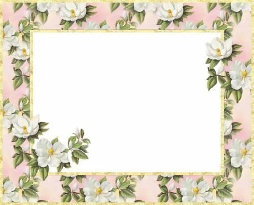 Красивые рамки для фотографий   подборка (5)