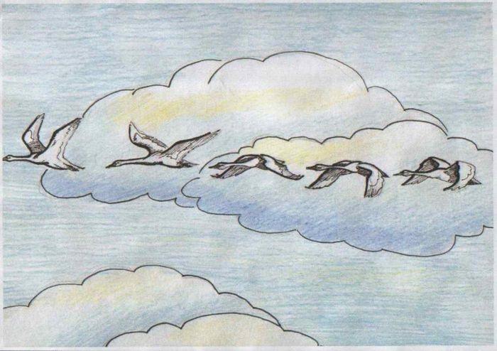 Красивые рисунки по изо 5 класс (11)