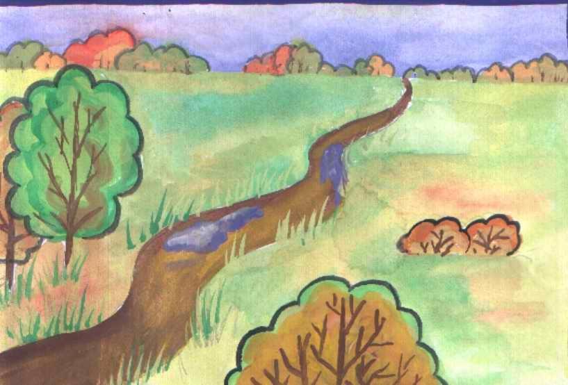 Красивые рисунки по изо 5 класс (12)