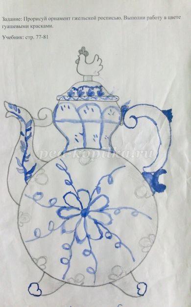 Красивые рисунки по изо 5 класс (24)