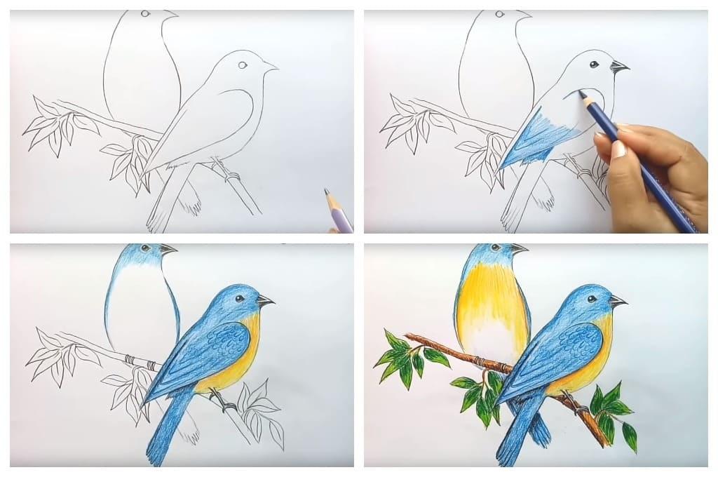 Красивые рисунки по изо 5 класс (6)