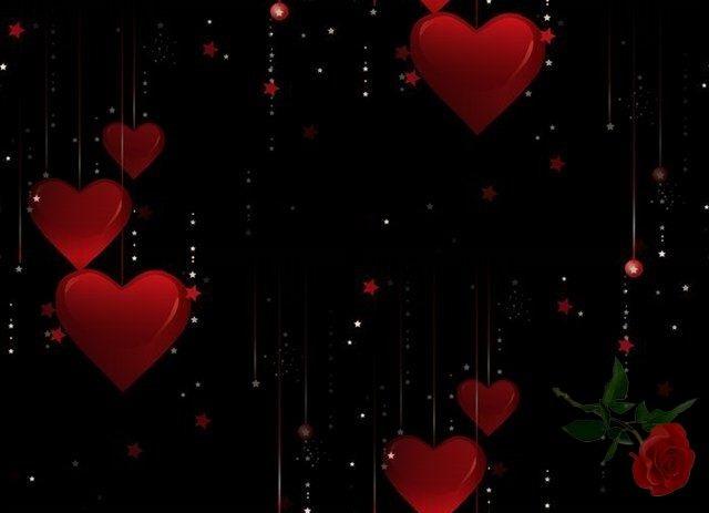 Красивые фоны с сердечками (12)