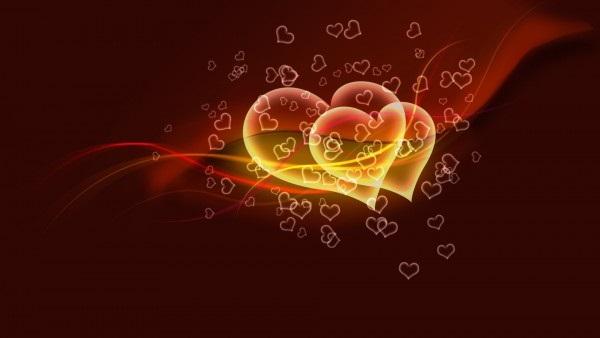 Красивые фоны с сердечками (13)