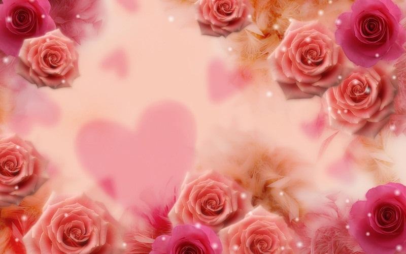 Красивые фоны с сердечками (16)