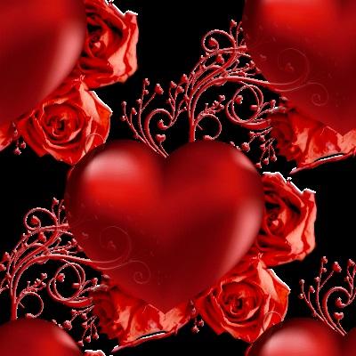 Красивые фоны с сердечками (21)