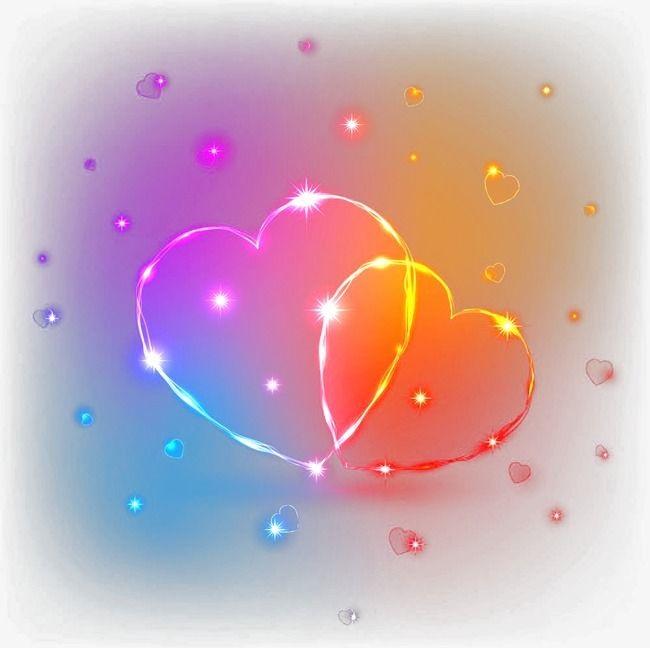 Красивые фоны с сердечками (3)
