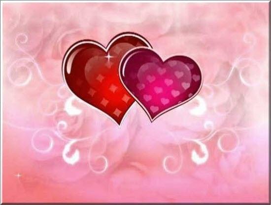 Красивые фоны с сердечками (5)
