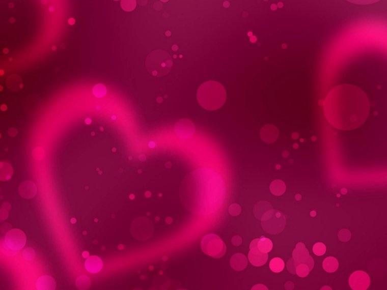 Красивые фоны с сердечками (8)
