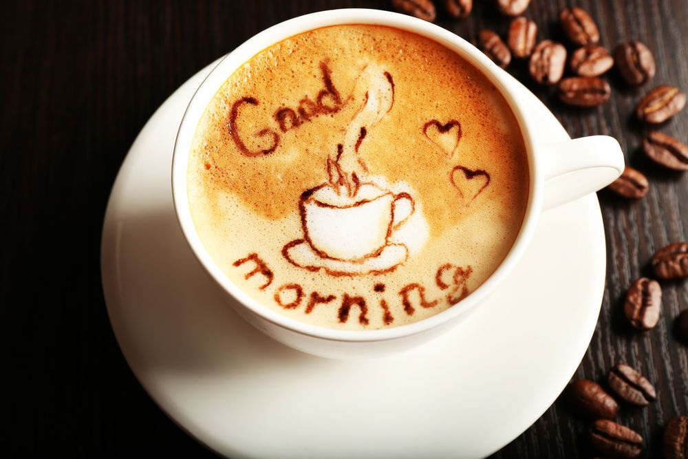Кружка кофе фото с добрым утром (17)