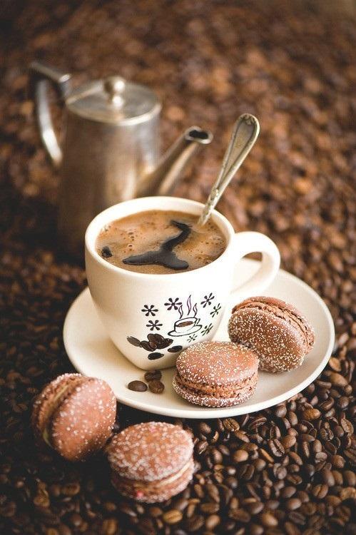 Кружка кофе фото с добрым утром (19)