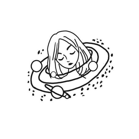 Легкие черно белые картинки для срисовки (15)